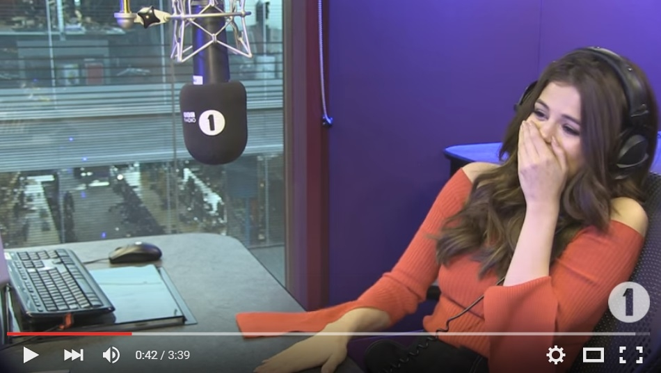 12 Year Old Uses Cheesy Pick Up Line To Try and Woe Selena Gomez - WATCH