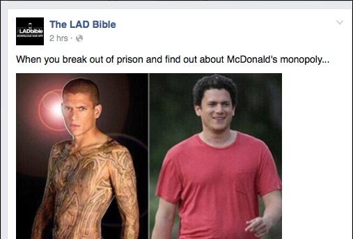 Wentworth Miller Turns Fat-Shaming Meme About Him Into Conversation About Mental Health