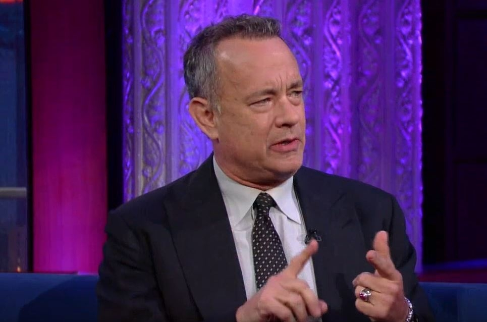 Tom Hanks remembers when he first saw Prince on television.