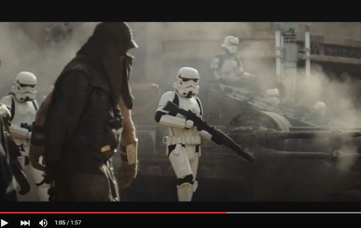 "First trailer for Star Wars ""Rogue One"" is here. WATCH!"