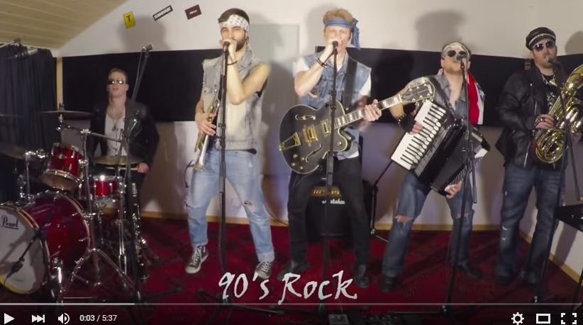 1 band, 22 genres, 5 minutes. Brilliant! WATCH..
