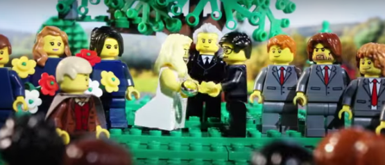 WATCH:Man celebrates his upcoming wedding by telling his love story with LEGO