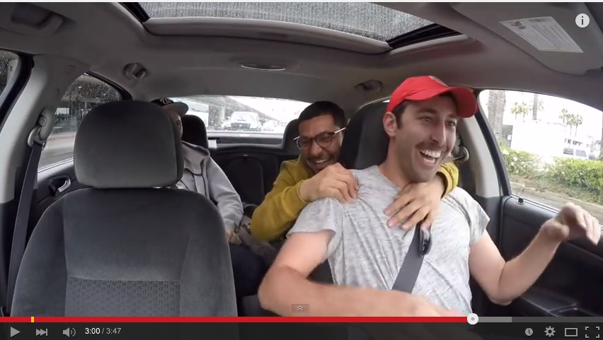 Dude Poses As Uber Driver To Surprise A Friend At The Airport - WATCH
