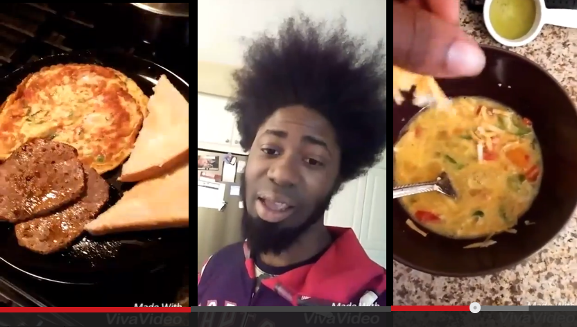 Guy Uses Snapchat To Make AMAZING Disney Inspired Song About Steak and Eggs - WATCH