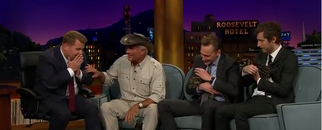 James Corden Is Just Like Us When Jack Hanna Lets Him Hold His Favourite Animal - WATCH