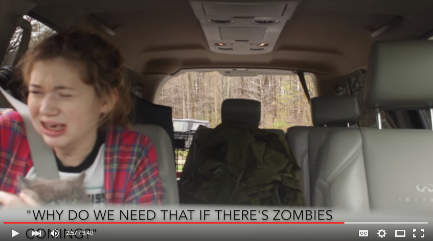 Brothers Convince Little Sister Of Zombie Apocalypse After She Gets Her Wisdom Teeth Out - WATCH