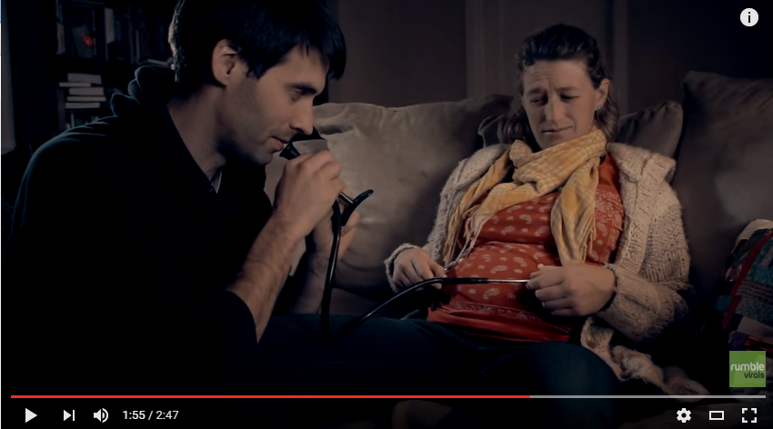Hilarious Movie Trailer For Baby Announcement Has Couple Show Real Life Worries About Having First Child - WATCH