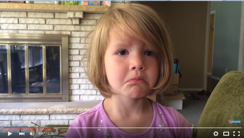 Adorable Little Girl Pleads With Uncle To Send Her Another Picture Of Him Cause She Deleted It - WATCH