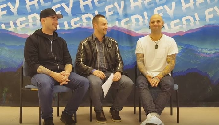 Rob Daniels spoke with Hedley's Tommy & Dave yesterday ahead of their Kitchener concert.