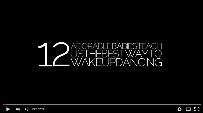 Just In Time For At First Light This Friday - These 12 Babies Will Show You How To Wake It and Shake It - WATCH