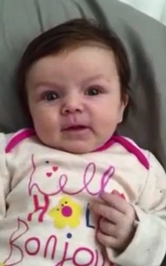 Is this 10-week-old talking??? WATCH