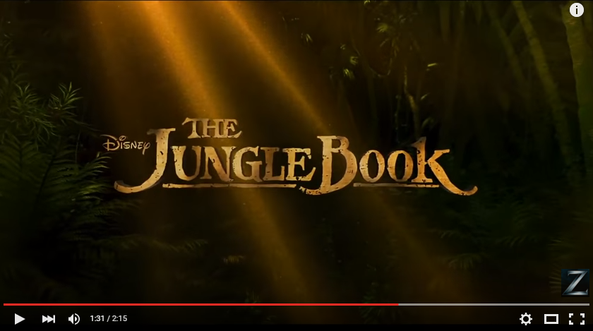 I Saw The New 'Jungle Book' This Weekend Check Out My Review. Is It Suitable For Kids?