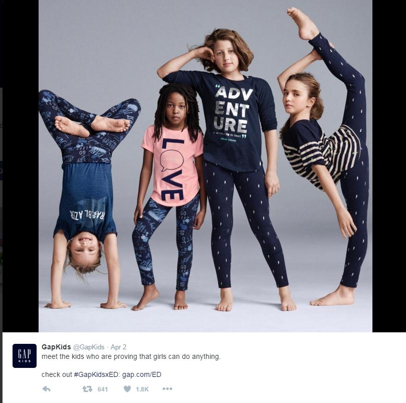 Gap Kids Ad receives some backlash