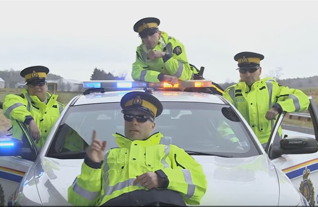 NS RCMP spoof Hotline Bling - and it's ah-mazing!  WATCH