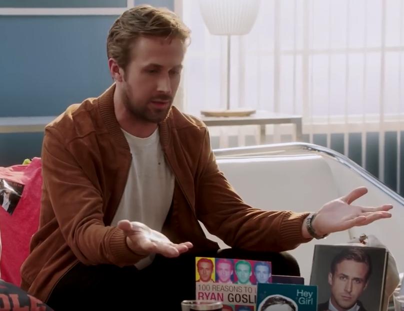 Ryan Gosling has done it...admits he never said Hey Girl *WATCH*