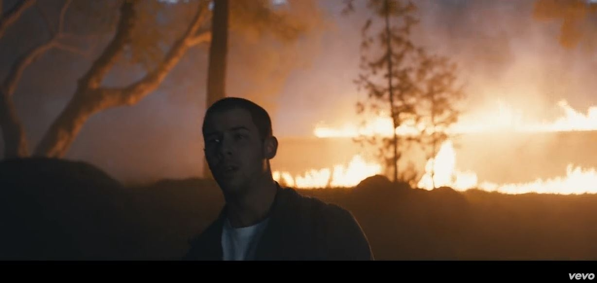 "It's all about heartbreak in Nick Jonas' new music video for ""Chainsaw"" *NSFW*"