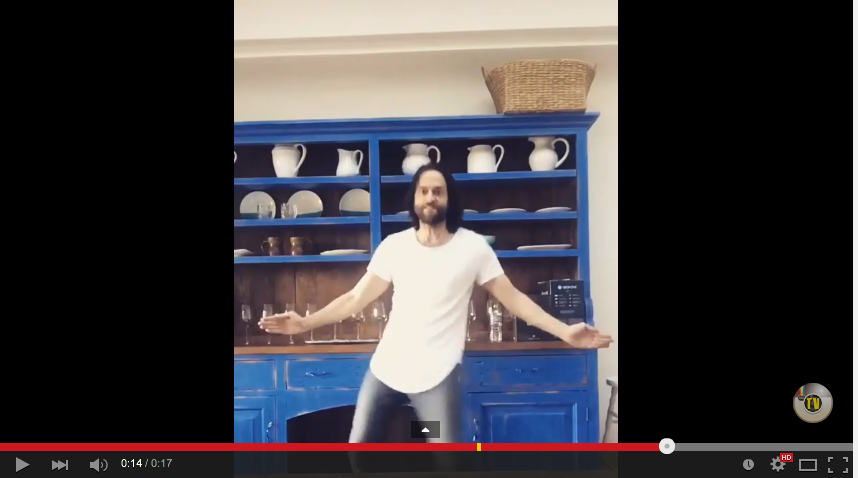 Chris D'Elia Dancing To Flo Rida 'My House' May Just Make You Question Your Own Dance Skills - WATCH