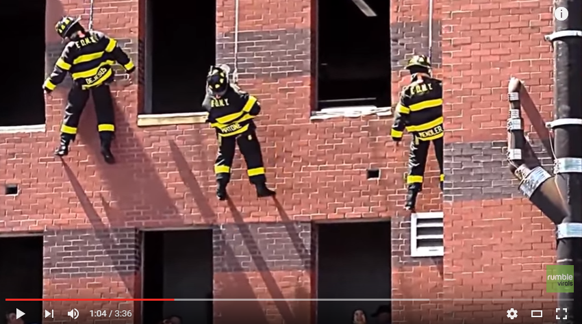 3 FDNY Firemen Propose To Their Girlfriends During A Rescue Drill - WATCH