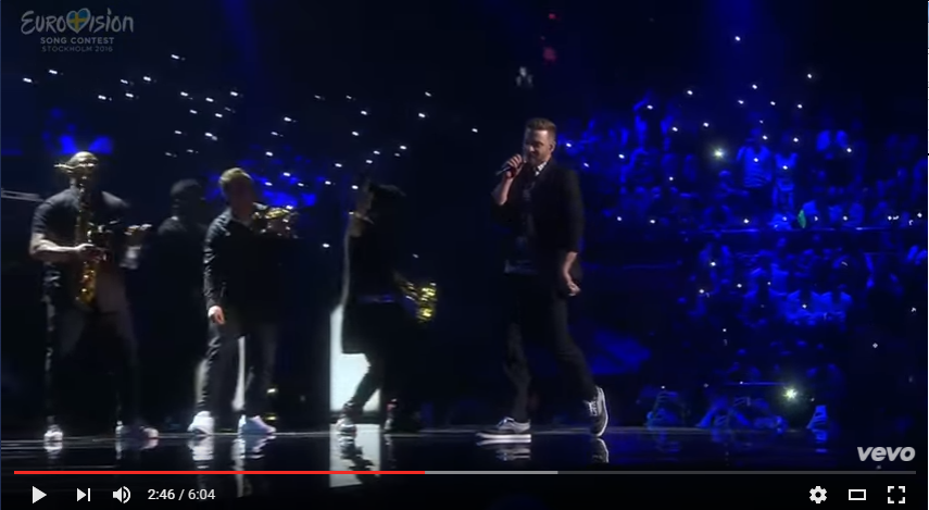 Justin TImberlake Preforms Remix of 'Rock Your Body' & 'Can't Stop The Feeling' - WATCH