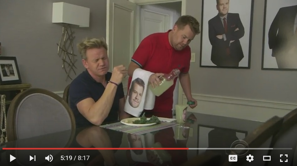 James Corden Turned His House Into a Bed and Breakfast, Gordan Ramsey Is His First Hotel Guest - WATCH