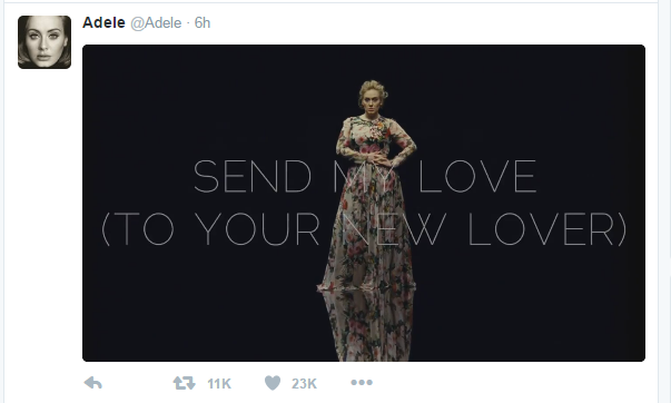 Adele drops next single - and video tease WATCH!