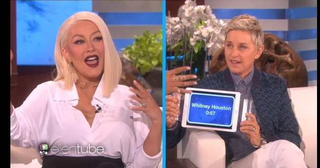 I Refuse To Call These 'Impressions' Because They Weren't. Watch Christina Aguilara Sing Other People's Songs!