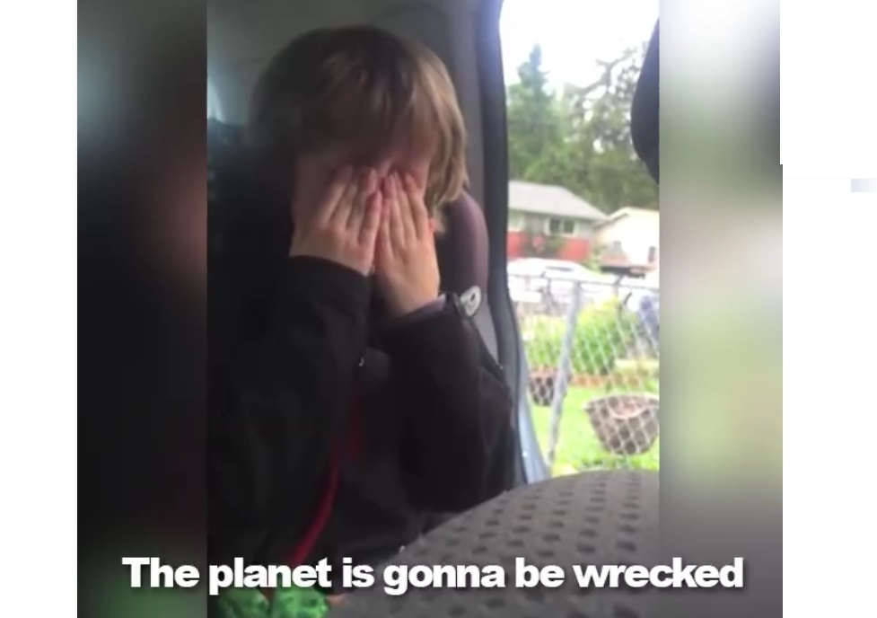 Young Boy Cares More About The Environment Then Most People Care About Anything - WATCH