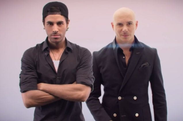 "PITBULL and ENRIQUE drop the visuals for ""Messin' Around"" (WATCH)"