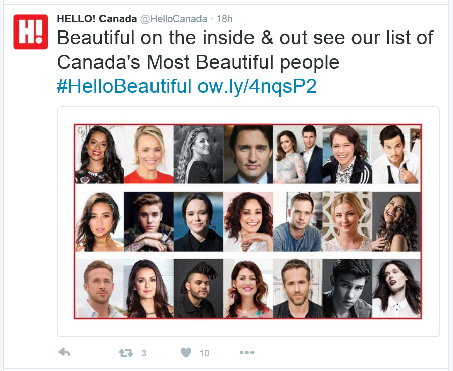 Are these Canada's Most Beautiful?