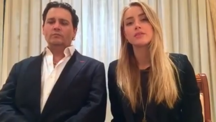 Amber Heard Filed For Divorce From Johnny Depp... 3 Days After His Mom Passed Away :(