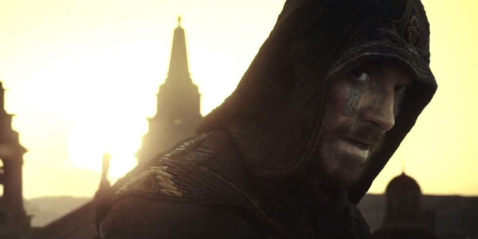 "Don't always LOVE video games turned MOVIES...BUT ""Assassin's Creed"" Looks GOOD! (WATCH)"