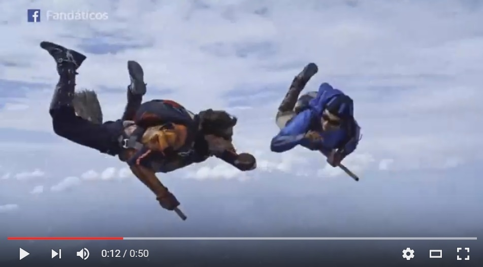 Hogwarts Who? Professional Skydivers Channel Harry Potter & Play Quidditch In Mid Air - WATCH