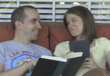 WATCH - this pregnancy announcement - ah-mazing!