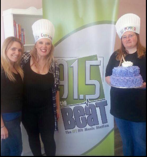 SGT. Pepper & Col. Cupcake Had A Blast Yesterday At DVAS Custom Cakes in Cambridge - WATCH