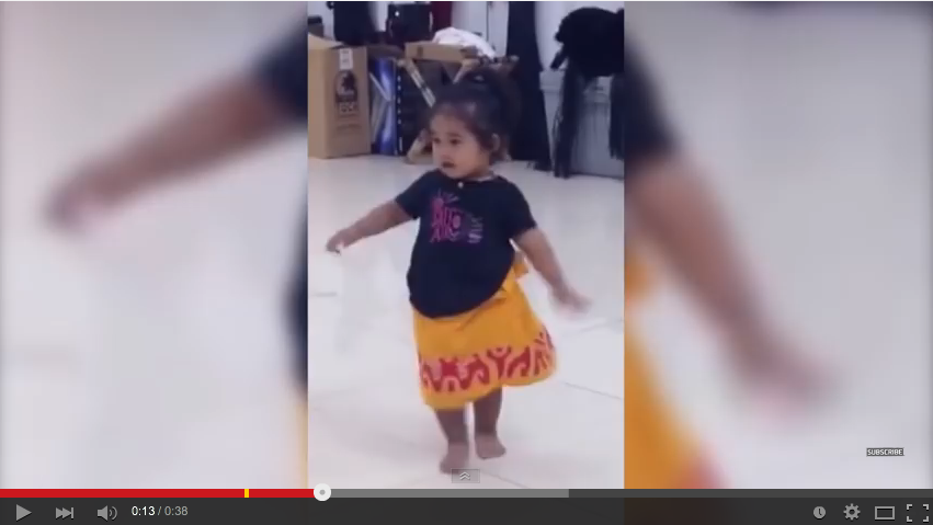 Little Hula Girl Will Dance Her Way Into Your Heart - WATCH