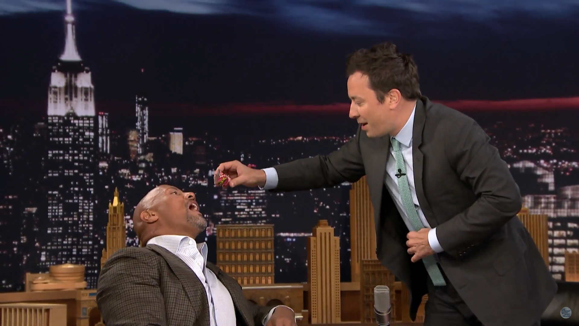 The ROCK hasn't had any CANDY since 1989??? Until NOW... (Watch)
