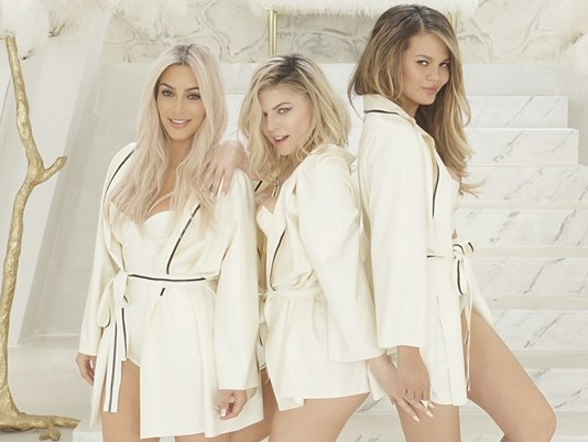 "FERGIE's BACK!!! And she brought some friends for her ""M.I.L.F. $"" Video...(WATCH)"