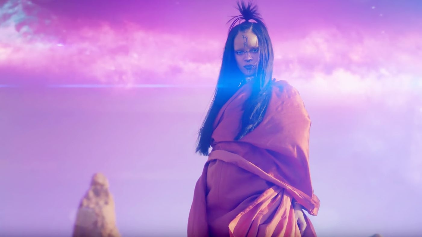 "RIHANNA has the FIRST EVER... IMAX music video with ""SLEDGEHAMMER"" (Watch)"