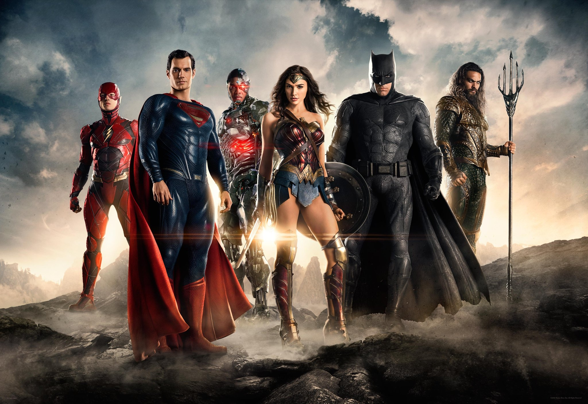 "FINALLY we have a TRAILER for ""The JUSTICE LEAGUE""  (WATCH)"