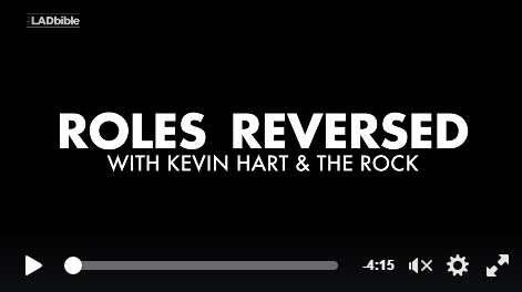 Roles Reversed With Kevin Hart & The Rock-WATCH