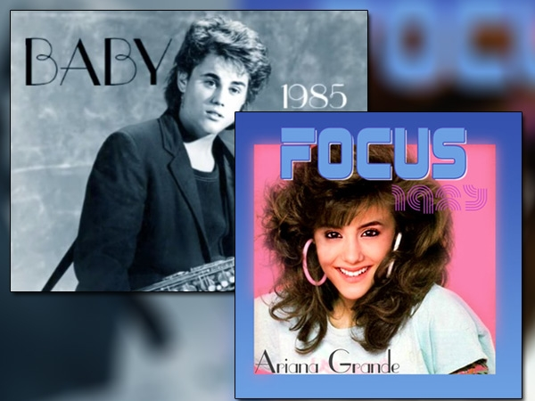 These NEW 80's Versions of JUSTIN BIEBER + ARIANA GRANDE are AWESOME!!! (WATCH)