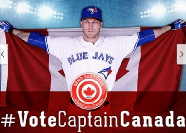 Help send Captain Canada to the MLB All-Star Game!