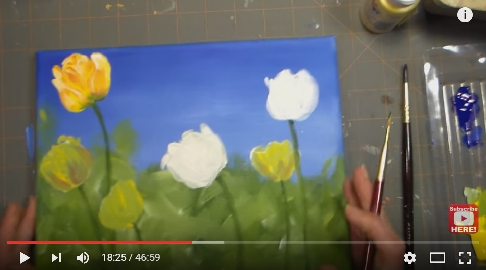 Need A Girls Night? Here Are A Few 'Wine And Painting' Tutorials You Can Do At Home - WATCH