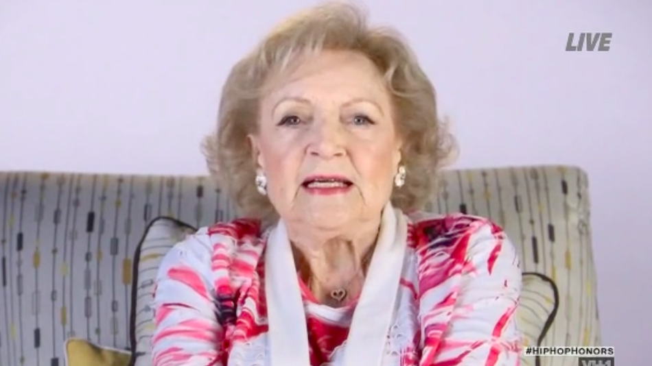 BETTY WHITE's Dramatic Reading of Queen Latifah's 'U.N.I.T.Y.' is AWESOME (WATCH)