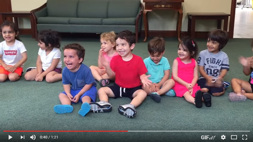 Little Boy Has Adorably Contagious Laugh During Music Class - WATCH