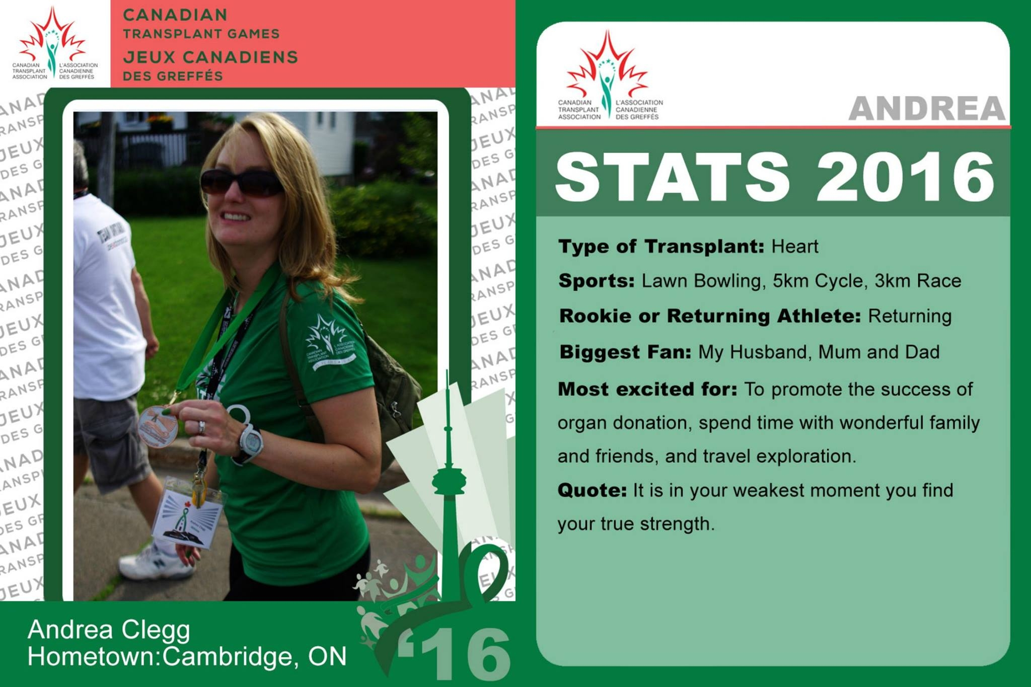 Celebrating the Gift of Life at the 2016 Canadian Transplant Games