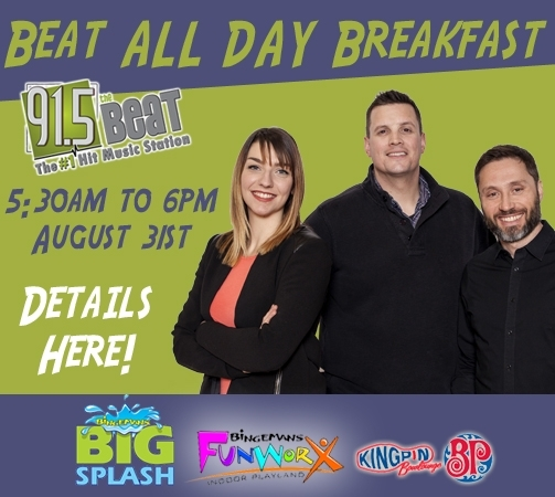 The Beat All Day Breakfast! Three reasons why you and the kids should try and be a part of it...