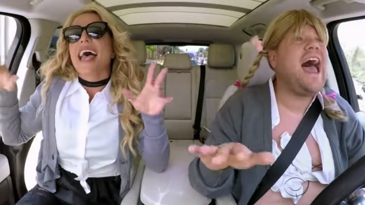 Britney Spears Finally Did Carpool Karaoke AND IT'S AMAZING!!