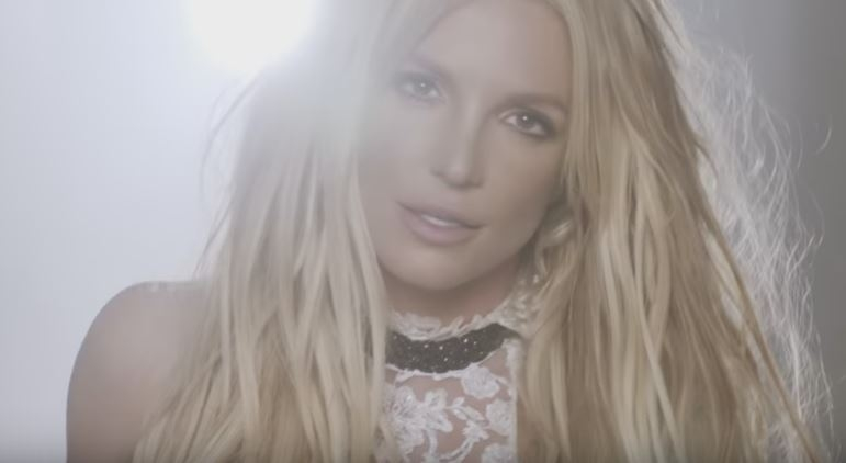 "Britney Spears bares ALMOST all in new video for ""Make Me"". WATCH.."