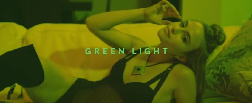 """3 Floridians, one song. Pitbull, Flo-Rida & Lunchmoney Lewis """"Green Light"""" ..you dig??"""